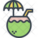 Coconut Juice Icon
