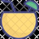 Coconut Juice Coconut Water Coconut Drink Icon