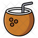 Tropical Coconut Food Fruit Icon