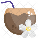 Coconut Milk Food Fruit Icon