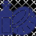 Coconut Oil Coconut Oil Bottle Copra Oil Icon