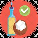 Keto Diet Coconut Oil Coconut Icon