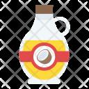 Coconut Oil Bottle Icon