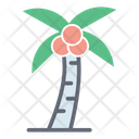 Coconut Tree Island Tree Palm Tree Icon