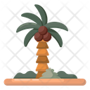 Coconut Tree Tropical Tree Palm Tree Icon