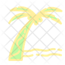 Coconut Tree Palm Tree Beach Icon