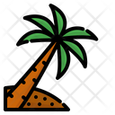 Coconut Tree Summer Beach Icon