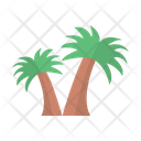 Date Tree Desert Icon