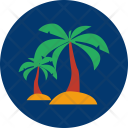 Coconut Tree Ramadan Icon