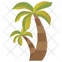 Palm Coconut Date Icon