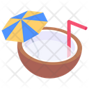 Coconut Water Icon