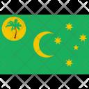 Cocos keeling island Icon