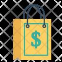 Cod Delivery Dollar Icon