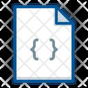 Codding Code File Icon