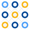 Code Codification Dot Matrix Icon