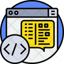 Coding Code Programming Icon