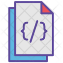 Code Code File Code Document Icon