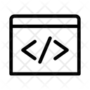 Code Design Graphic Icon