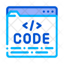 Code File Computer Icon