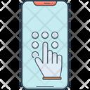 Code Keypad Hand Icon