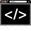 Code Development Web Icon