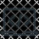 Code Coding Laptop Icon