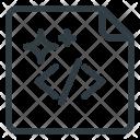 Code Clean Shine Icon