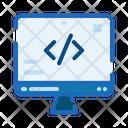 Website Code Coding Icon