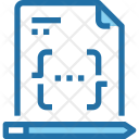 Code Paper Document Icon