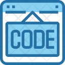 Code Website Webpage Icon