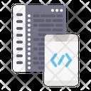 Code Website Webpage Icon