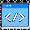 Code Binary Code Web Coding Icon