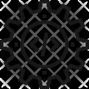 Code Coding Cogwheel Icon
