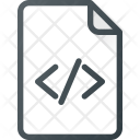 Code File Programing Icon
