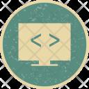 Code Optimization Coding Icon