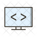 Code Optimization Coding Icon