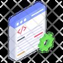 Web Coding Web Programming Code Development Icon