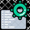 Code Engineering Cog Settings Icon
