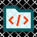 Folder Code Icon