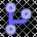 Code Fork Github Code Icon