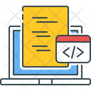 Code Learning Code Coding Icon