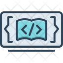 Code Learning Programming Application Icon