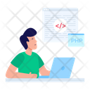 Code Learning Icon