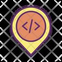 Code Location Icon