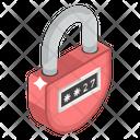 Code Lock Digital Lock Padlock Icon