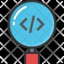 Html Code Focus Icon