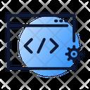 Code optimization Icon