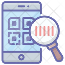 Code Reader Tracking Code Barcode Scanning Icon
