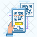 Code Scanning Qr Code Scanning Code Tracking Icon