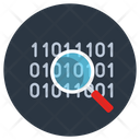 Code Search Programming Search Code Finding Icon